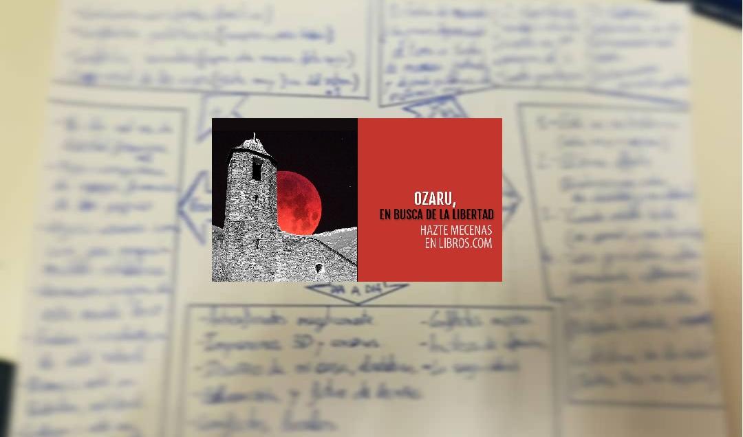 Ozaru, en busca de la libertad: Mi primer libro